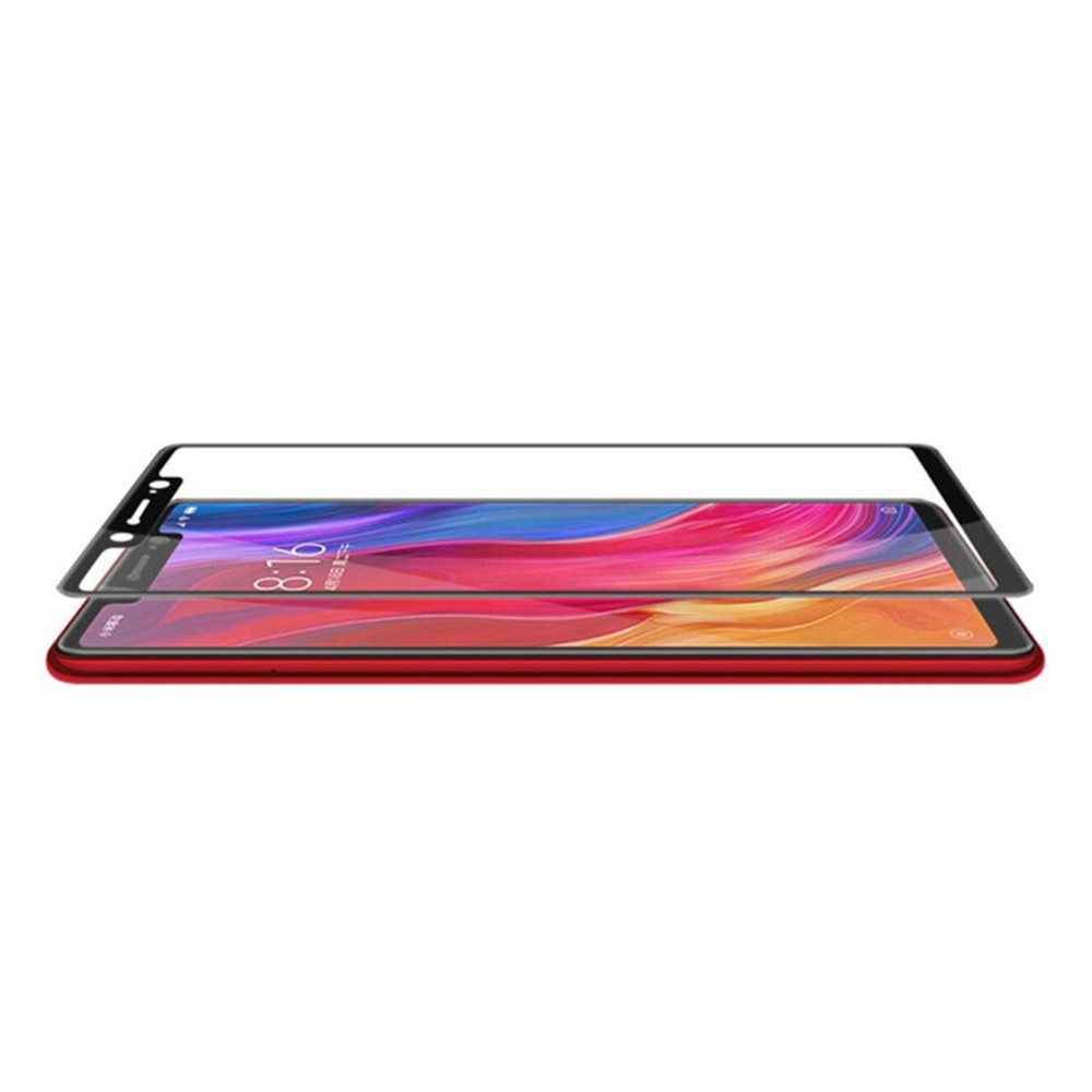 <strong>1</strong>/2pc For Xiaomi Redmi Note 6 Pro 5D Curved 9H Tempered Glass Film Screen Protector Case Cover Protector Protective Glass Film
