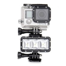 <strong>Gopro</strong> waterproof fill light hero5/4 LED photography light mountain dog SJ4000 small ant diving light