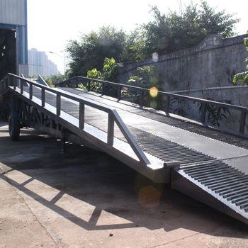 Mobile eleciftic lift,electric loading platform&ramp,electric lift ramp