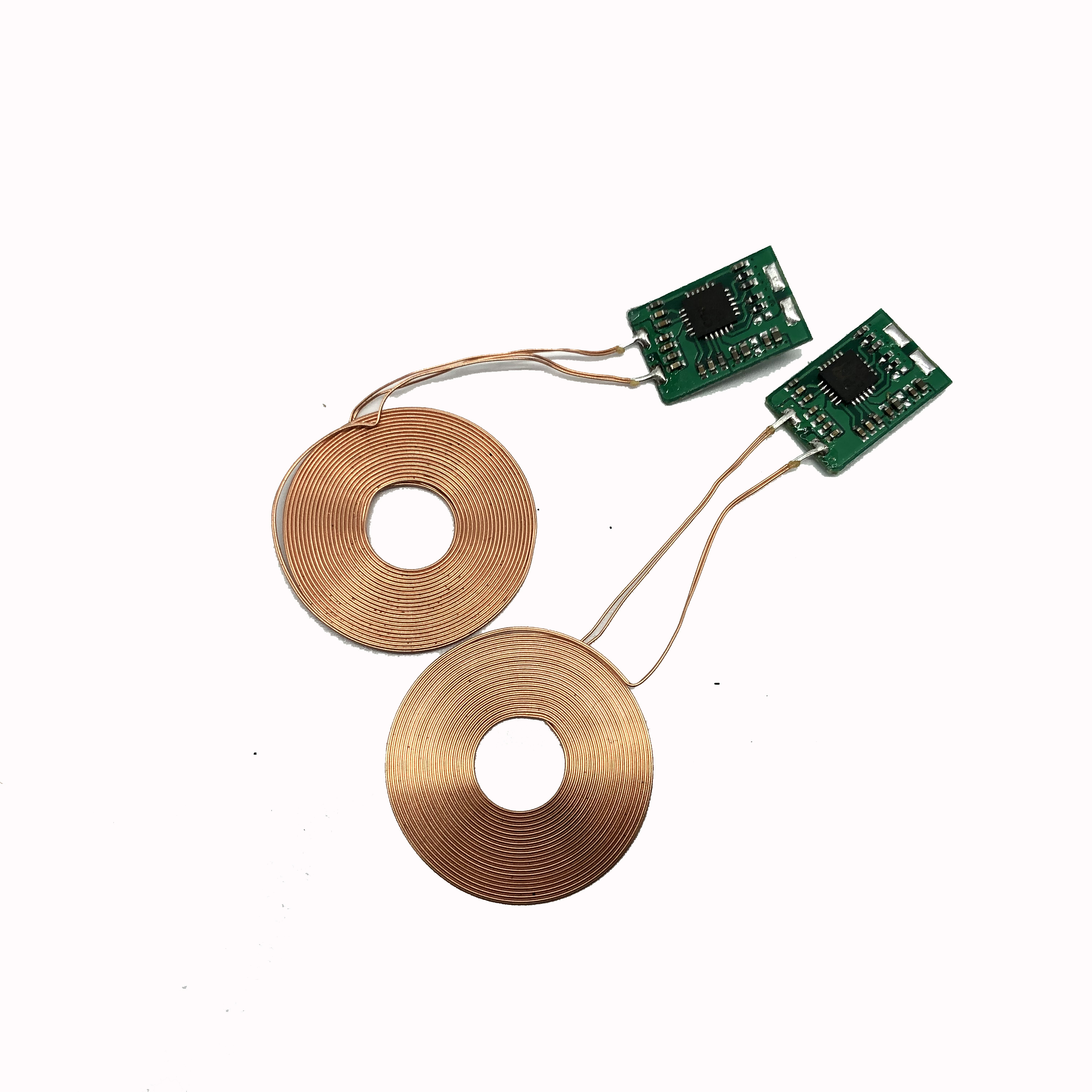 Quick charging receiver <strong>module</strong> for TWS airpod round mini wireless charger pcb boards