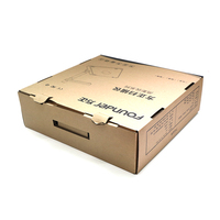Recycle Customized Box Eco Brown Kraft Paper Packaging for Digital Scanner