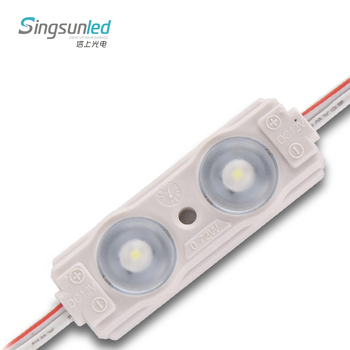 1W 2 led module 2835/5050 with factory bottom price