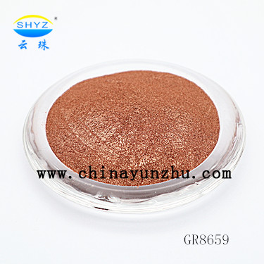 Yunzhu Makeup Mica Pigments Intense Chroma Brown Color Mica <strong>Colorants</strong>