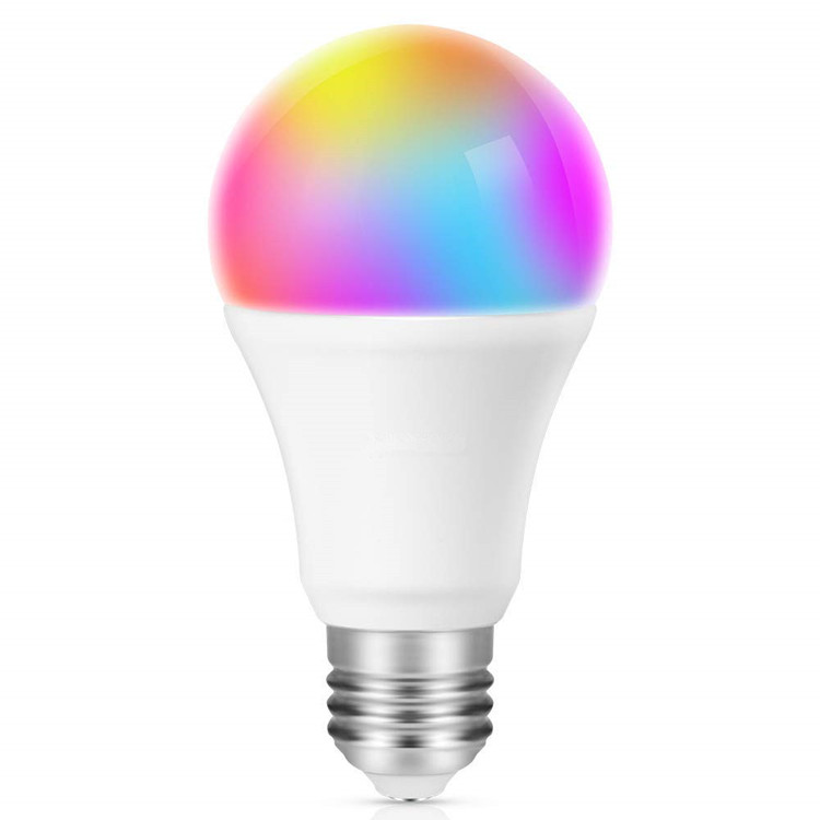 Shareus E27 Multicolor Works with Alexa, Echo, Google Home and IFTTT Tuya LED WiFi Lamp Smart <strong>Bulb</strong>