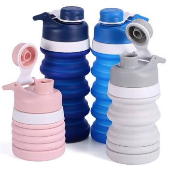 Wholesale Hot Products Supply BPA Free Collapsible Sport Water Bottles