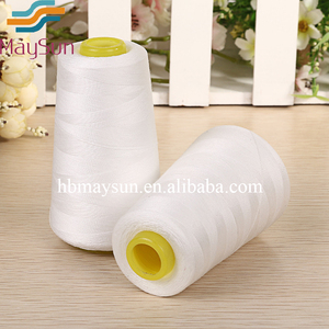 high quality 100% Dyed Polyester Spun Sewing Thread