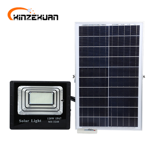 High lumen outdoor waterproof ip67 for outdoor lighting 25 40 60 100 120 watt solar led flood light