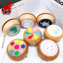 Baby Classic Toys Wooden <strong>Yoyo</strong> Toys Kids Intelligence Educational Toy Hand-Eye Coordination Development <strong>Yoyo</strong>