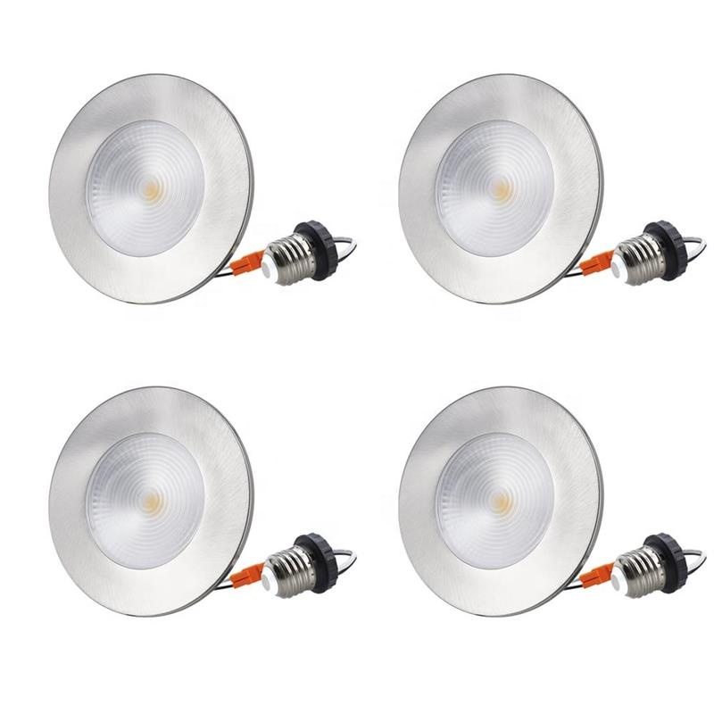 8W 4 inch Dimmable <strong>LED</strong> Trim Recessed Ceiling <strong>Lights</strong> for <strong>LED</strong> Recessed Can Lighting Fixtures