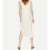 New Design  Front Pocket Style Casual Long Dress Cotton  Slip Dress