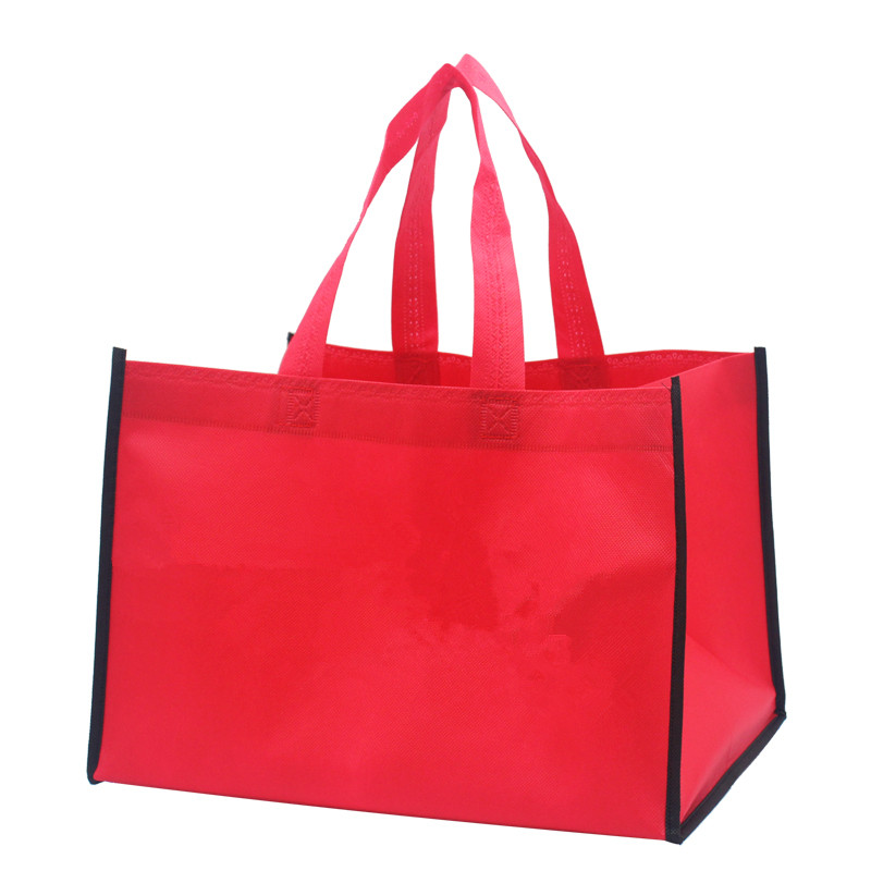 eco friendly 100% pp non woven shopping bag machine making cheap price custom non-woven shopper bag tote bags