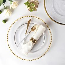 Hot Selling Products Charger <strong>Plate</strong> For Wedding, Gold Glass <strong>Plate</strong> Charger, Glass Gold Beaded Charger <strong>Plate</strong>%