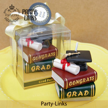 Yiwu Wholesale Graduation Party Cap Candle Favors