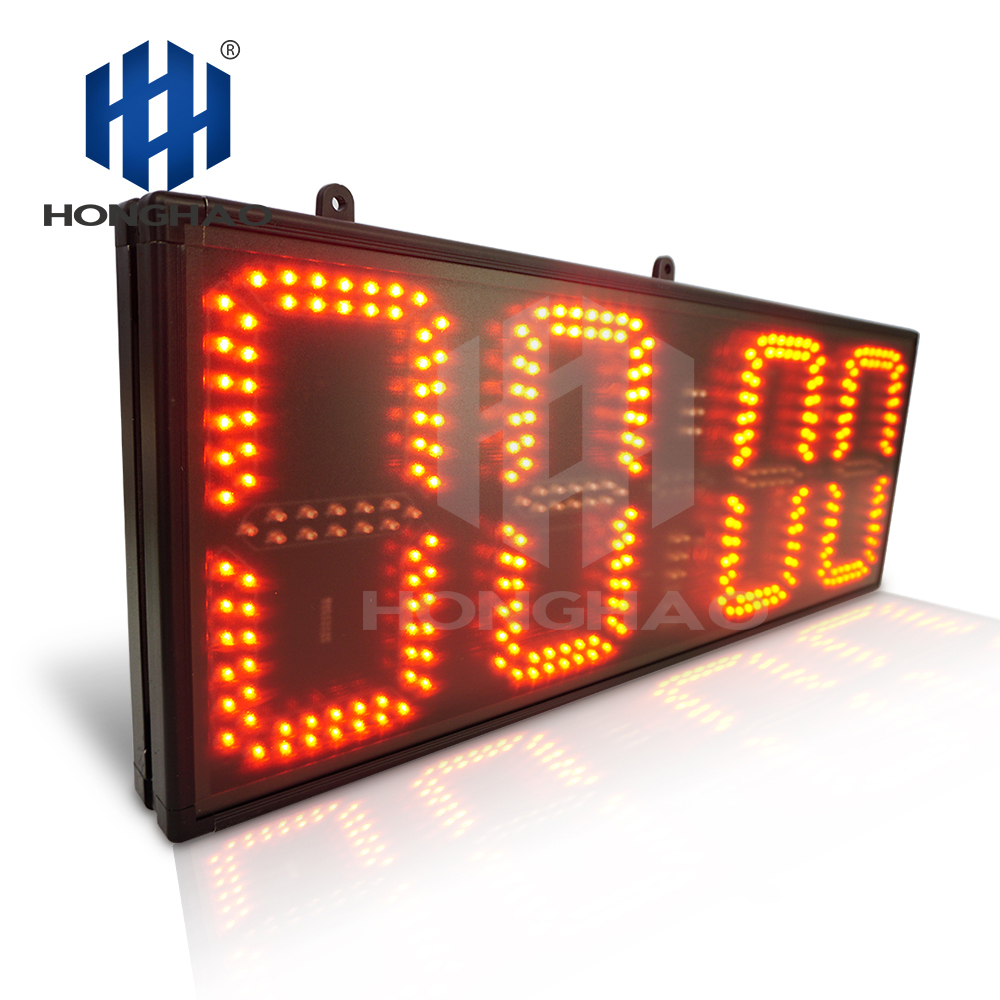 Honghao 8&quot; 4 Digit Large Count Up Remote Control LED Countdown Sports <strong>Timer</strong>