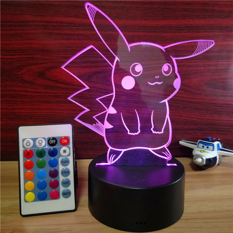 Best Selling Cute Lamparas 3D USB Acrylic Led <strong>Light</strong> 3D Night Lamp