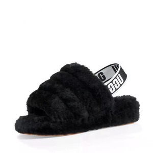 Soft women winter sliders slippers custom logo slippers for home