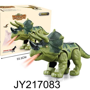 Electronic Dinosaur Robot Toys for Kids Walking Roaring Dinosaur with light and music