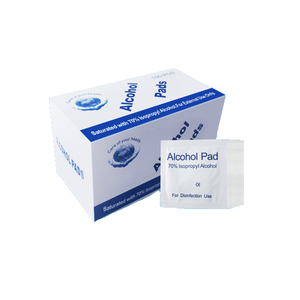 High Quality 70% medical alcohol + medical non-woven fabric Cleansing Disinfectant Individually Wrapped Wet Wipes