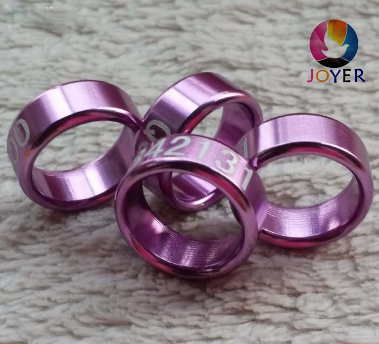 Iot Devices Devoted 100pcs Personal Customization Pigeon Rings Bird Ring Leg Rings Identify Dove Bands 8mm Plastic Aluminium Rings
