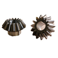 Custom gear manufacturer harden steel Small micro mini Straight 4340 steel 90 degree bevel gear