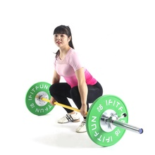Gym equipment coloured competition rubber bumper <strong>plates</strong>