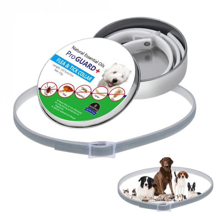2019 Natural Essential Oils Pro Guard Flea and Tick Collar for <strong>Dogs</strong>