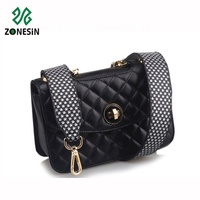 ZONESIN 90cm Long Star Pattern Leather Shoulder Strap For Bags