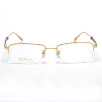 High quality standard two tone nickle free plating metal optical frames for reading prescription spectacle frame eyeglasses