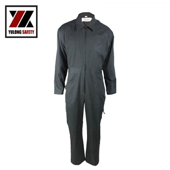 China Manufacturer Safety Protective Flame Retardant Work Coveralls Uniform Design