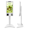 Windows Android 32Inch Touch Screen Restaurant Ordering Kiosk in wall or standing Payment Kiosk