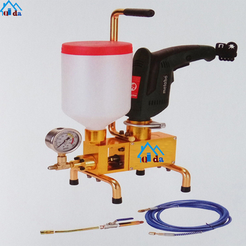 Environmentally Pu Handle Injection Grouting Mixer Machine