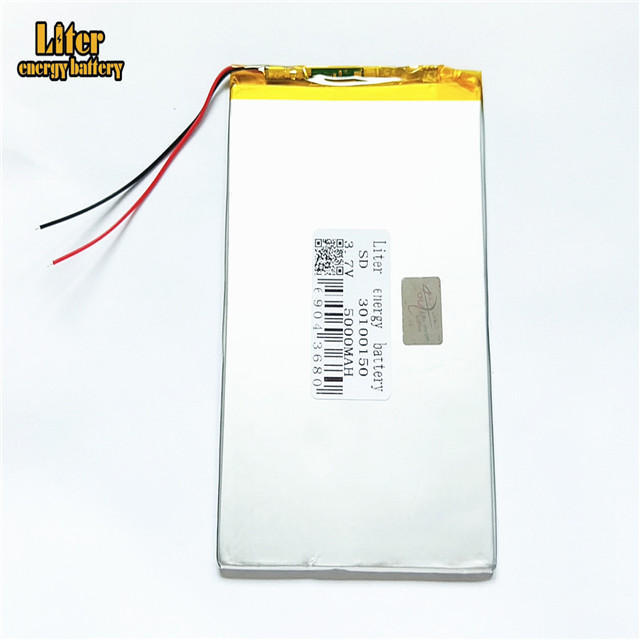 30100150 rechargeable 5000mah lithium polymer <strong>battery</strong> 3.7V single lipo cell