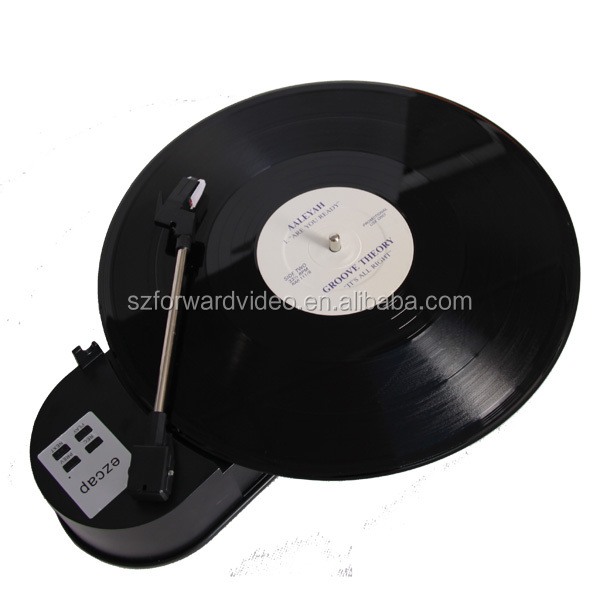 USB Turntable Player and Converter no PC required, vinyl records-ezcap612