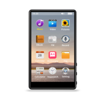 A602 Speake Capacitive Touch Screen Video 2.5D MP4 Player