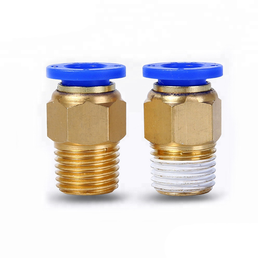 SNS (SPC Series) brass one touch quick coupler pneumatic pipe <strong>fitting</strong>