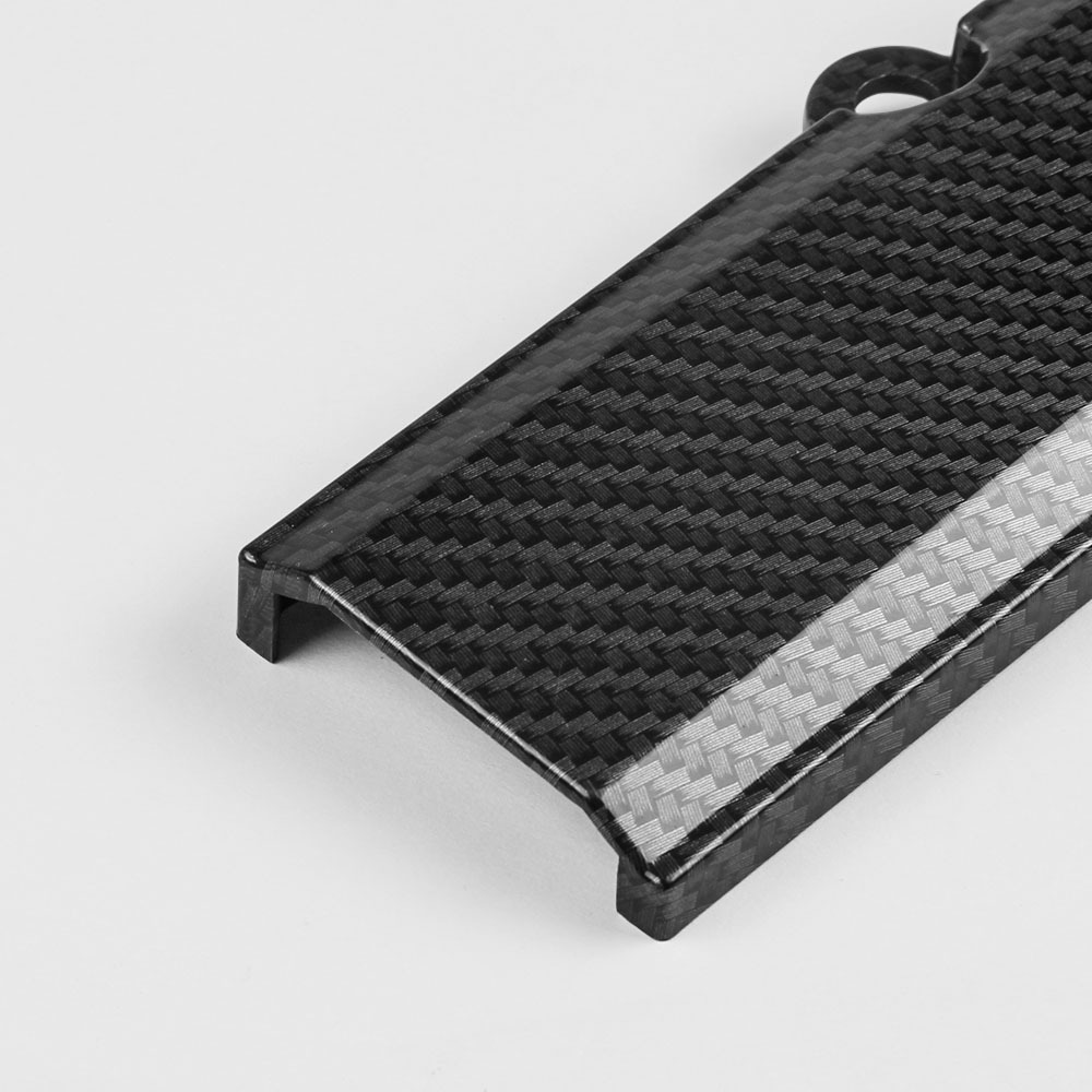 Automotive <strong>engine</strong> <strong>engine</strong> harness cover carbon fiber hood