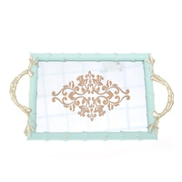 Resin jewelry display tray with French and classical style