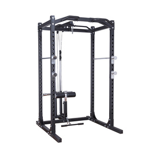 Professional multifunction power rack squat cage gym equipment