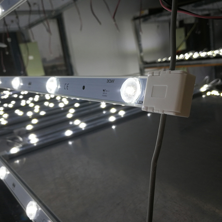 2835 36watt 6 strip 6 <strong>led</strong> indoor mesh <strong>p10</strong>