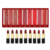 30 colors private label black matte lipstick long lasting