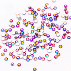 NEW AB Round Crystal Rhinestones Flatback Nail Art phone decorations