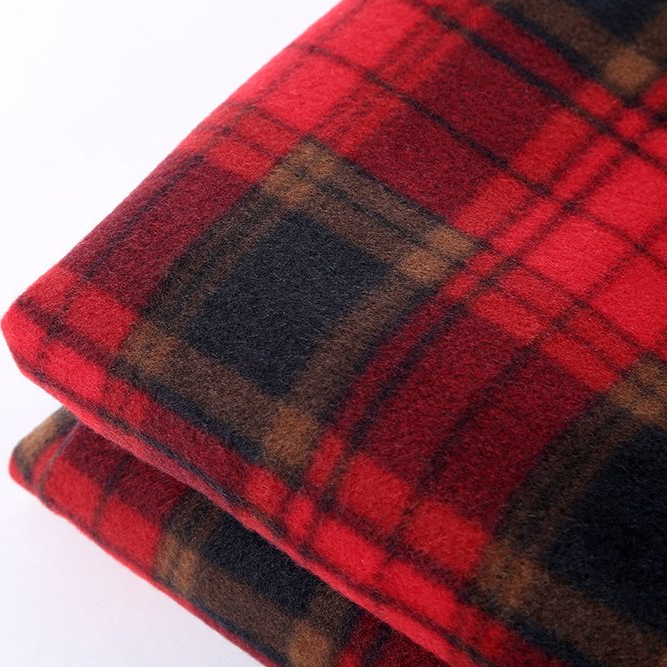 12V DC Car Blanket <strong>Plaid</strong> (Red)