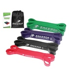 Zakerda Natural latex Pull Up Assist Bands Stretch resistance Powerlifting workout resistance Band
