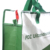 Newest sale special design super market used green mixed white rpet tote bag