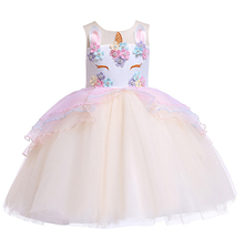 Stock Sleeveless <strong>Girl's</strong> Tutu <strong>Dress</strong> in Summer
