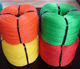 3 strand twisted pe polyethylene poly color nylon rope 4mm