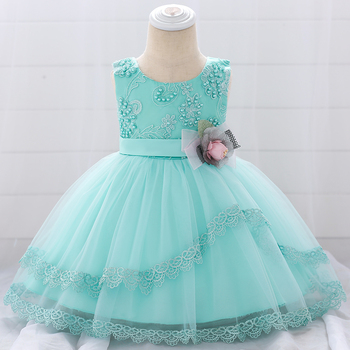 Wholesale Kids Frock Designs Flower Girl Dresses Patterns Baby Girl Party Dress L1886XZ