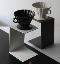 2018 coffee holder pot filter <strong>shelf</strong> V60 coffee drip station dripper stand pedestal festival gifts