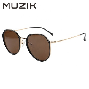 MS003 Custom Brand Round Shape Classic Metal Frame Sunglasses For Sale