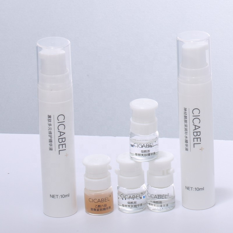 skin care set private label acid hyaluronic moisturizing <strong>face</strong> meso white brightening oligopeptide ceramide serum acne